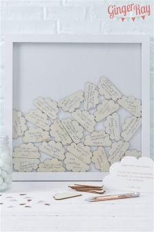 Ginger Ray Baby Shower Guest Book Frame