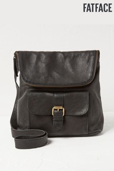 FatFace Black Small Backpack
