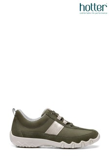 Hotter Green Leanne II Lace-Up Active Trainers