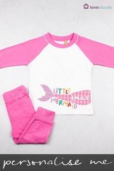 Personalised Little Mermaid Pyjamas by Loveabode