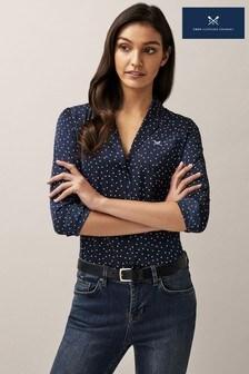 Crew Clothing Company Blue Hyacinth Shirt