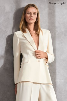 Phase Eight Neutral Cadie Suit Jacket