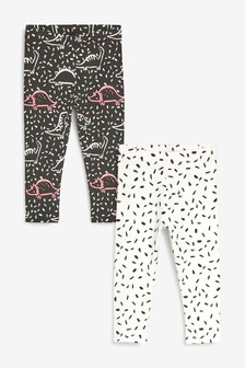 2 Pack Dino Leggings (3mths-7yrs)