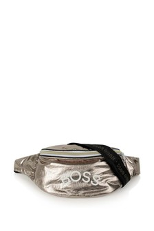 Girls Gold Logo Belt Bag