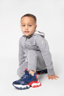 Moncler Enfant Kids Navy Trainers
