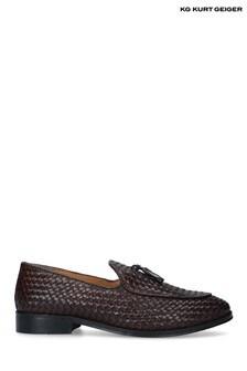 Kurt Geiger London Brown Haxsby Shoes