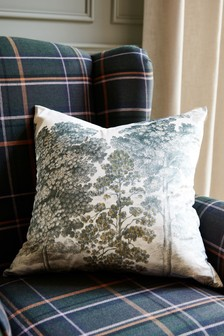 Green Heritage Tree Cushion