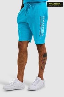 Nautica Competition Blue Dodger Fleece Shorts
