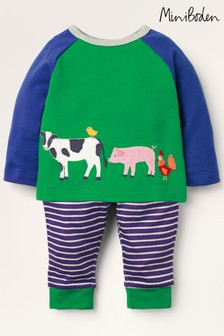Mini Boden Blue Fun Jersey Play Set