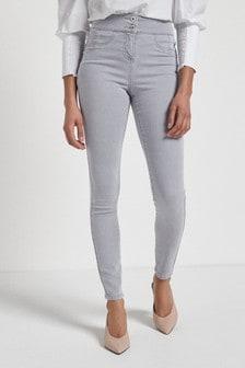 Soft Stretch Push Up Sculpt Skinny Jeans
