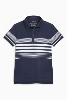 Chest Striped Poloshirt (3-16yrs)