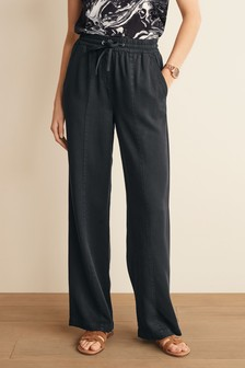 TENCEL™ Wide Leg Trousers