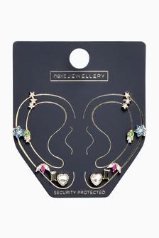 Stud Earrings 6 Pack