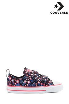 Converse Flower Chuck Ox Infant Trainers