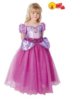 Rubies Purple Rapunzel Premium Fancy Dress Costume