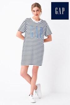 Gap Logo Short Sleeve T-Shirt Dress
