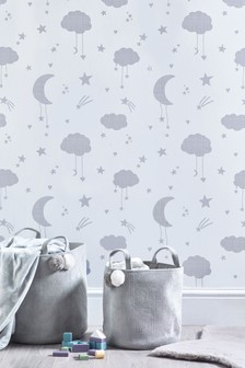 Paste The Paper Grey Clouds Wallpaper