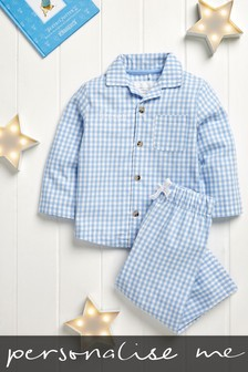 Personalised Gingham Pyjamas