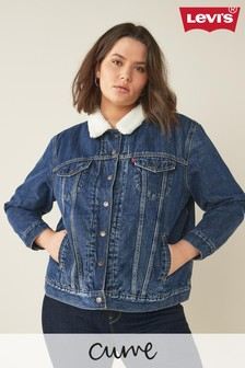 Levi's® Curve Ex Boyfriend Trucker Denim Jacket
