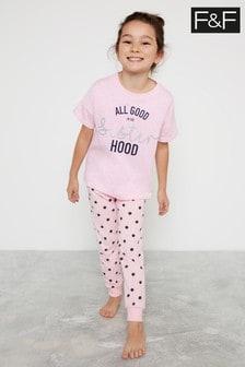 F&F Pink Sisterhood Fam Pyjamas