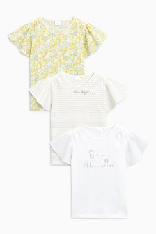Pretty T-Shirts Three Pack (3mths-6yrs)