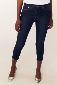 Oasis Purple Jade Cropped Jeans