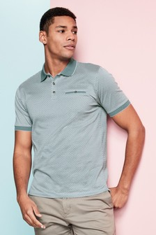Jacquard Pattern Polo