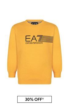 EA7 Emporio Armani Boys Cotton Sweater