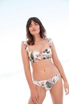 Shape Enhancing Bandeau Bikini Top