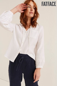 FatFace White Frankie Blouse