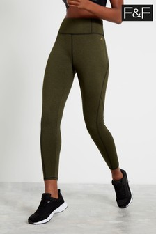F&F Khaki Thermal Leggings