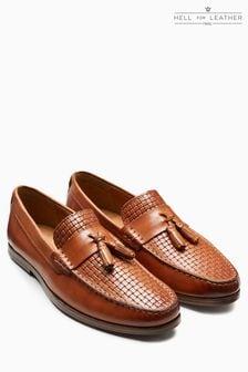 Weave Tassel Loafer