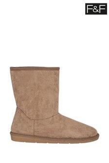 F&F Tan Snug Boots