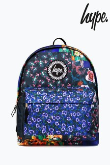 Hype. Floral Patches Backpack