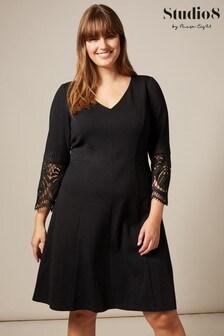 Studio 8 Black Malene Dress