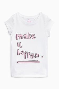 Graphic Short Sleeve T-Shirt (3-16yrs)