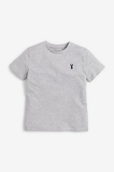 Stag Embroidery T-Shirt (3-16yrs)