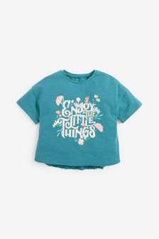 Slogan T-Shirt (3mths-7yrs)