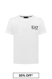 EA7 Emporio Armani Boys Cotton T-Shirt