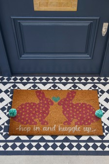 Pom Bunny Doormat