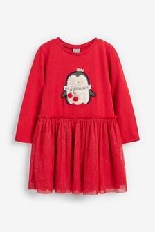Penguin Dress (3mths-7yrs)