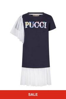 Emilio Pucci Navy Dress
