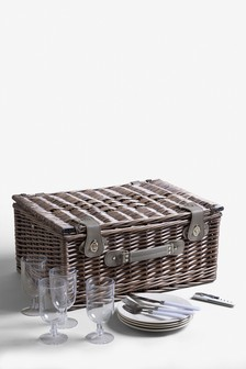 4 Person Geo Picnic Hamper