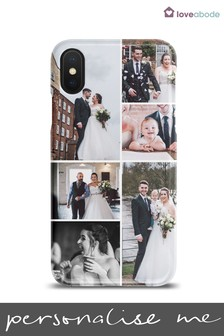 Personalised Photo Collage Phone Case by Loveabode