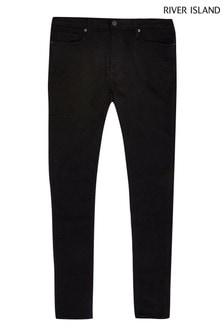 River Island Black Spray-On Skinny Ollie Jeans