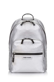 Silver Elwood Baby Changing Backpack