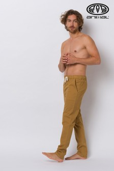 Animal Dijon Brown Osmington Beach Pants