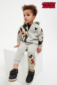 Mickey Zip Through Hoodie And Joggers Set (3mths-8yrs)