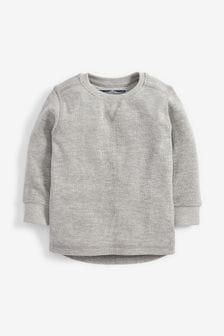 Long Sleeve Textured T-Shirt (3mths-7yrs)