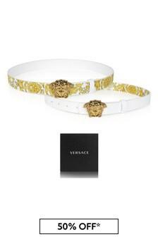 Versace Kids Reversible Belt